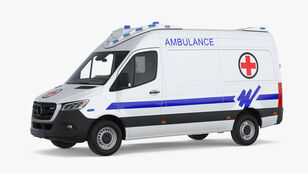 xe cứu thương MERCEDES-BENZ SPRİNTER AMBULANCE A TYPE