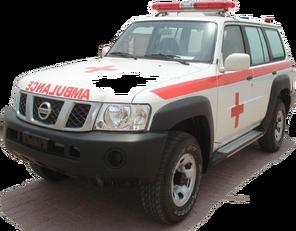 xe cứu thương NISSAN Patrol 4.0 XE AT mới