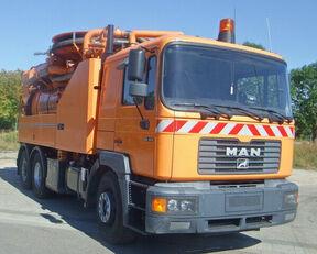 xe phun nước rửa đường MAN 28.414 DA 22 Szennyvíztísztító