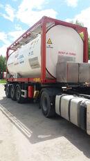 container bồn 20ft VAN HOOL ОРЕНДА / Охолодження -10 / Підігрів + 80