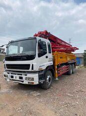 bơm bê tông SANY 2011 renovated 37m on ISUZU 6*4 truck cho phụ tùng