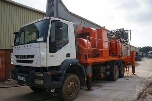 giàn khoan DANDO Watertec 40 1,000m depth supplied with service truck