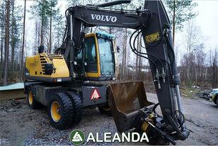 máy đào bánh lốp VOLVO EW 140B