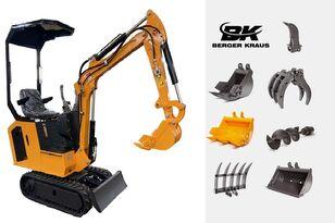 máy đào cỡ nhỏ BERGER KRAUS Mini Excavator BK800BS torsion arm with FULL equipment mới