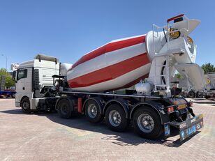 sơ mi rơ mooc trộn bê tông ALIM mixer semi trailer concrete mixer semi-trailer mới