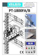 sàn treo PT ALBA 1800FA/B mới