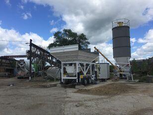 trạm trộn bê tông CONMACH MobKing-30 Mini Mobile Concrete Batching Plant - 30 m3/h mới