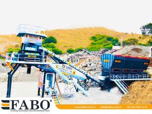 trạm trộn bê tông FABO  COMPACT-110 CONCRETE PLANT | CONVEYOR TYPE mới