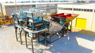trạm trộn bê tông FABO TURBOMIX-120 MOBILE CONCRETE PLANT READY IN STOCK mới