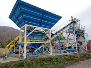 trạm trộn bê tông PROMAX Compact Concrete Batching Plant C60-SNG-PLUS (60m3/h) mới