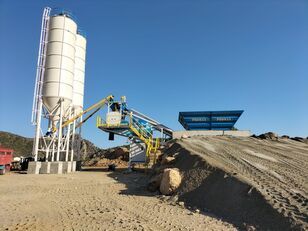 trạm trộn bê tông PROMAX Mobile Concrete Batching Plant M60-SNG mới