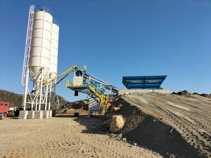 trạm trộn bê tông PROMAX Mobile Concrete Batching Plant PROMAX M60-SNG (60m3/h) mới