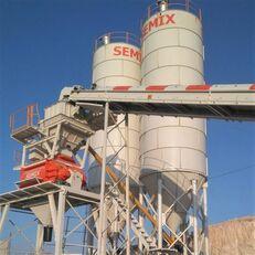 trạm trộn bê tông SEMIX Stationary 130 STATIONARY CONCRETE BATCHING PLANTS 130m³/h mới