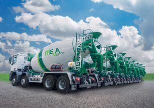 xe tải trộn bê tông Euromix 9 m3 trên khung BETAMIX 9  m3 mới