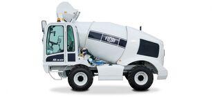 xe tải trộn bê tông FIORI DBX25 mới