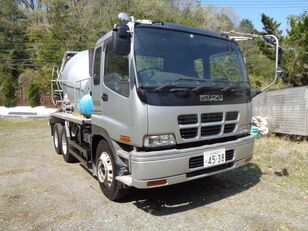 xe tải trộn bê tông ISUZU Giga